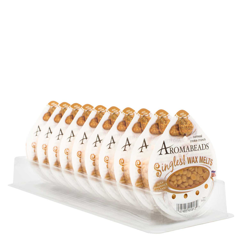 Aromabeads Singles Oatmeal Cookie Crunch Wax Melts 10 Pack