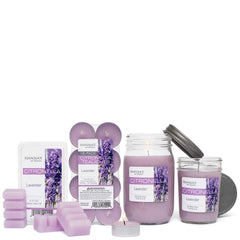 Citronella Lavender Scented Pint Jar Candle Candles Candlemart.com $ 9.99