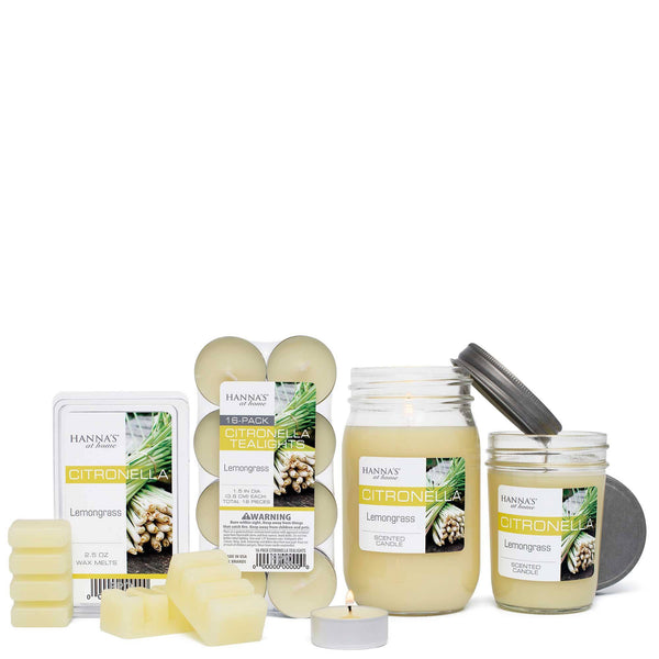 Buy Citronella Lemongrass Scented Tealights At Candlemart