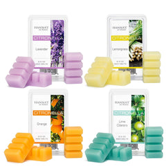 Citronella Lemongrass Scented Wax Melts Melts Candlemart.com $ 2.49