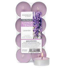 Candlemart.com Citronella Lavender Scented Tealights Candles $ 1.99