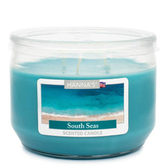 South Seas Scented 3 wick Candle - Candlemart.com
