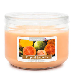 Tropical Smoothie Scented 3 wick Candle Candles Candlemart.com $ 7.99