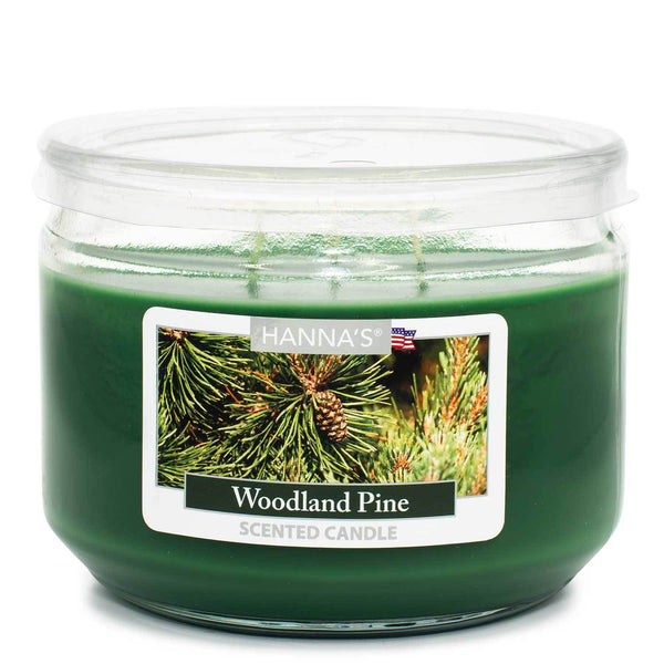 Woodland Pine Scented 3 wick Candle