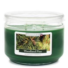 Woodland Pine Scented 3 wick Candle Candles Candlemart.com $ 7.99