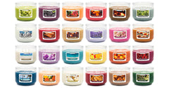 Coral Honeysuckle Scented 3 wick Candle Candles Candlemart.com $ 7.99