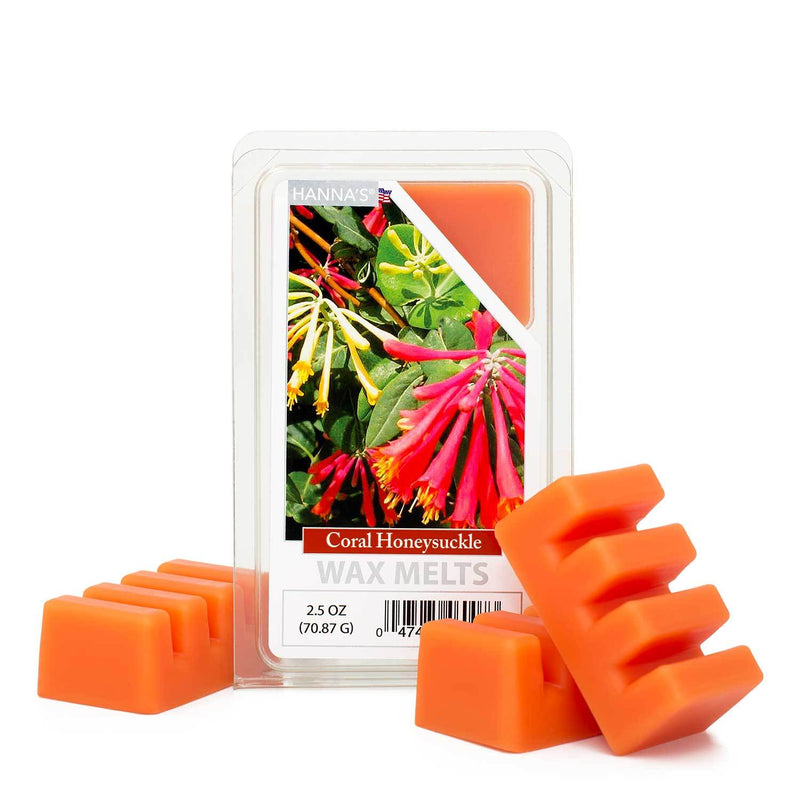 Coral Honeysuckle Scented Wax Melts - Candlemart.com