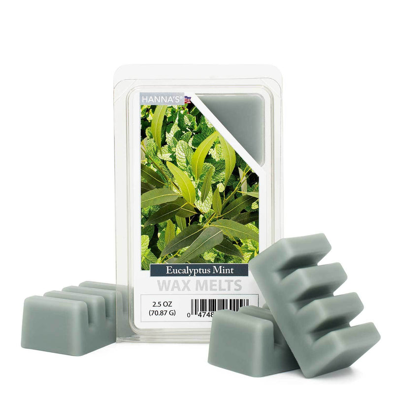 Eucalyptus Mint Scented Wax Melts - Candlemart.com