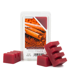 Ground Spice & Cinnamon Scented Wax Melts - Candlemart.com