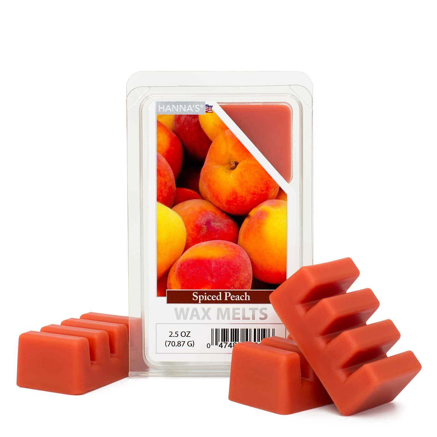 Spiced Peach Scented Wax Melts