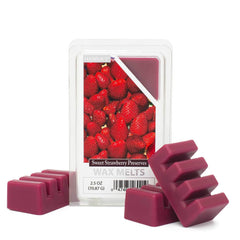 Sweet Strawberry Preserves Wax Melts 6 Pack