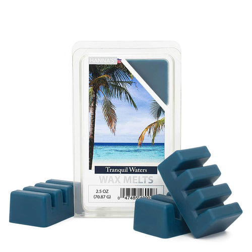 Tranquil Waters Wax Melts 6 Pack