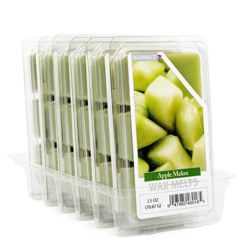 Apple Melon Wax Melts 6 Pack Melts Candlemart.com $ 12.99