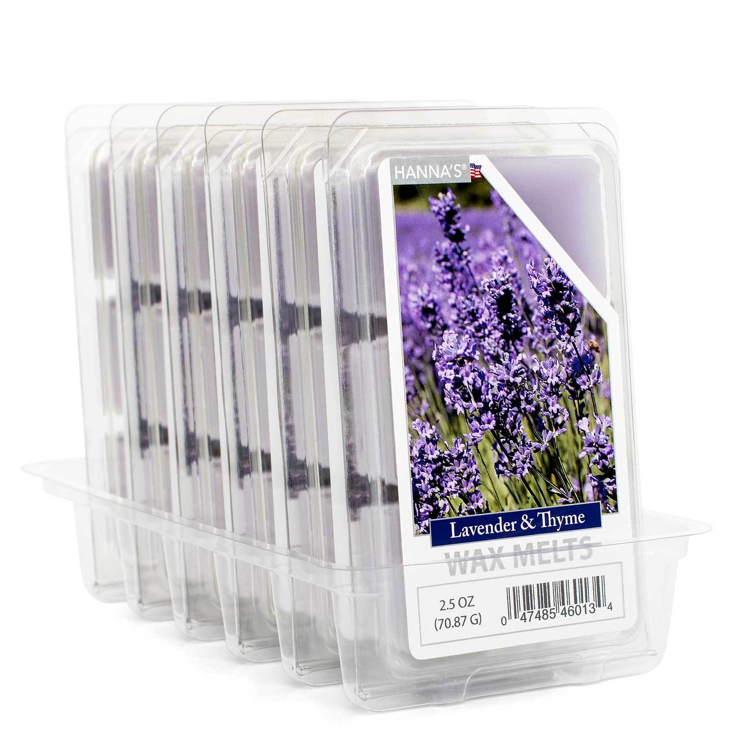 Lavender Thyme Wax Melts 6 Pack Melts Candlemart.com $ 12.99