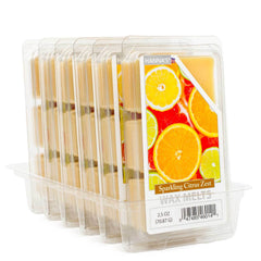 Sparkling Citrus Zest Wax Melts 6 Pack Melts Candlemart.com $ 12.99