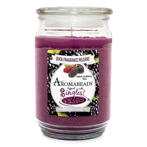 Aromabeads Black Mulberry Tree Scented Candle Aromabeads Candlemart.com $ 9.99