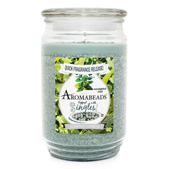 Aromabeads Eucalyptus Mint Scented Candle Aromabeads Candlemart.com $ 9.99