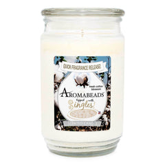 Aromabeads Fresh Cotton Blossom Scented Candle Aromabeads Candlemart.com $ 9.99