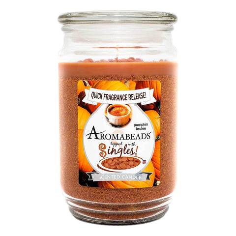 Aromabeads Pumpkin Brulee Scented Candle