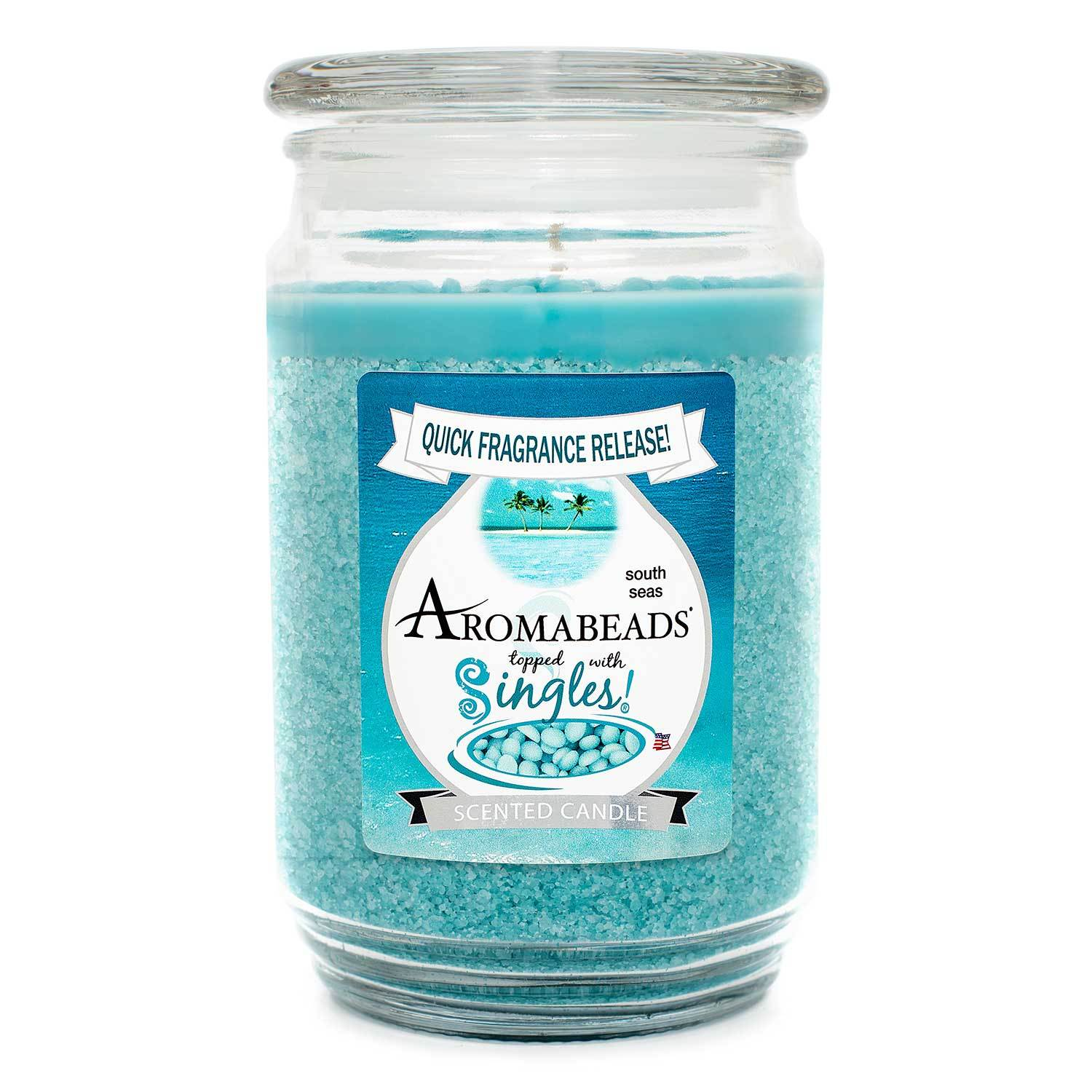 Aromabeads South Seas Scented Candle