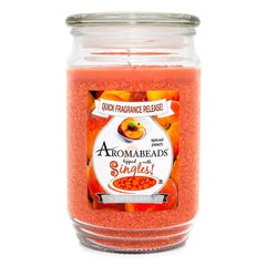 Aromabeads Spiced Peach Scented Candle