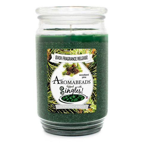 Aromabeads Woodland Pine Scented Candle Aromabeads Candlemart.com $ 9.99
