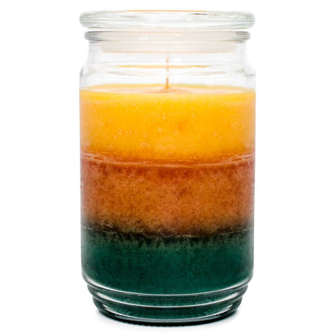 Sparkling Citrus Zest Scented Mottled Wax Candle Candles Candlemart.com $ 14.99