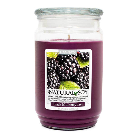 Natural Soy Black Mulberry Tree Scented Soy Candle 100% Soy Candles Candlemart.com $ 12.99