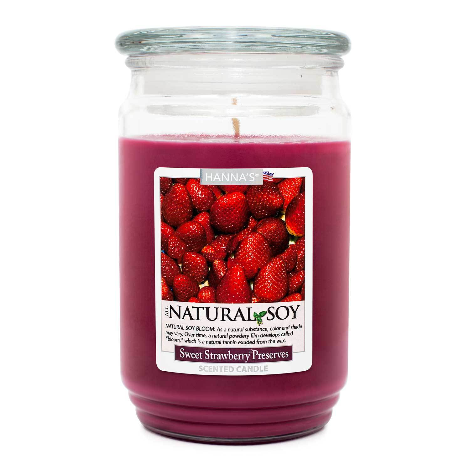 Natural Soy Sweet Strawberry Preserves Scented Soy Candle 100% Soy Candles Candlemart.com $ 12.99
