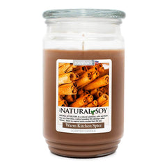 Natural Soy Warm Kitchen Spice Scented Soy Candle 100% Soy Candles Candlemart.com $ 12.99