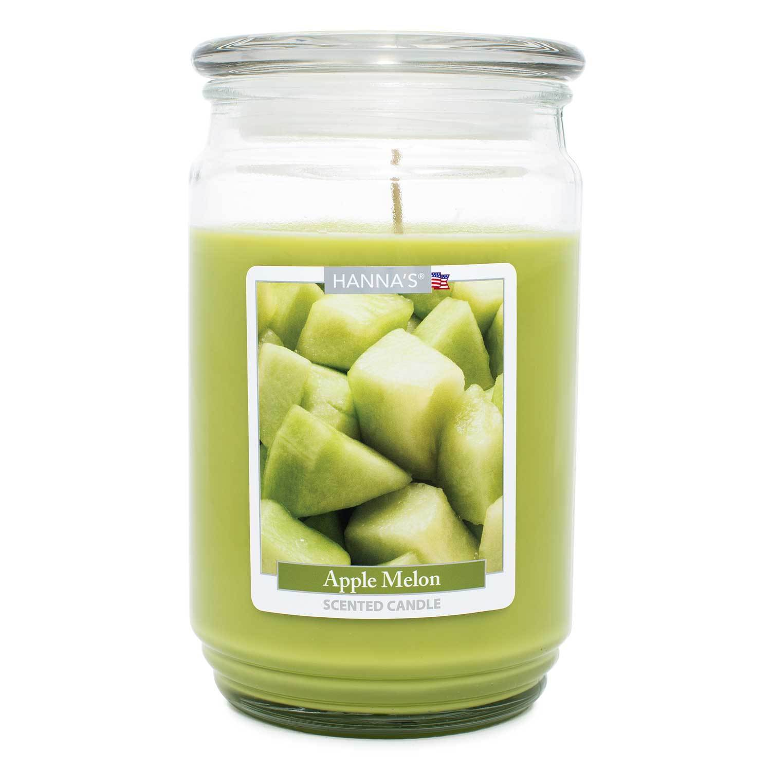 Apple Melon Scented Large Candle
