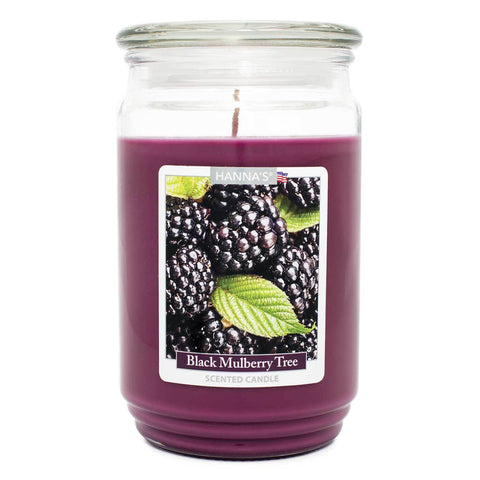 Black Mulberry Tree Scented Large Candle - Candlemart.com