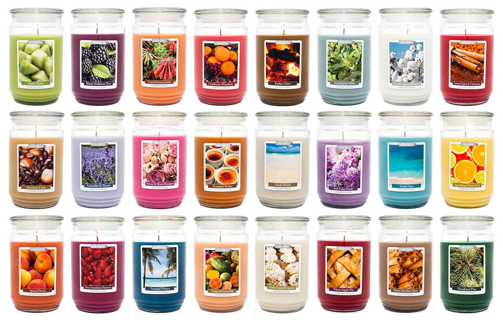 Fresh Cotton Blossom Scented Large Candle Candles Candlemart.com $ 12.99