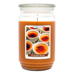 Pumpkin Brulee Scented Large Candle Candles Candlemart.com $ 12.99