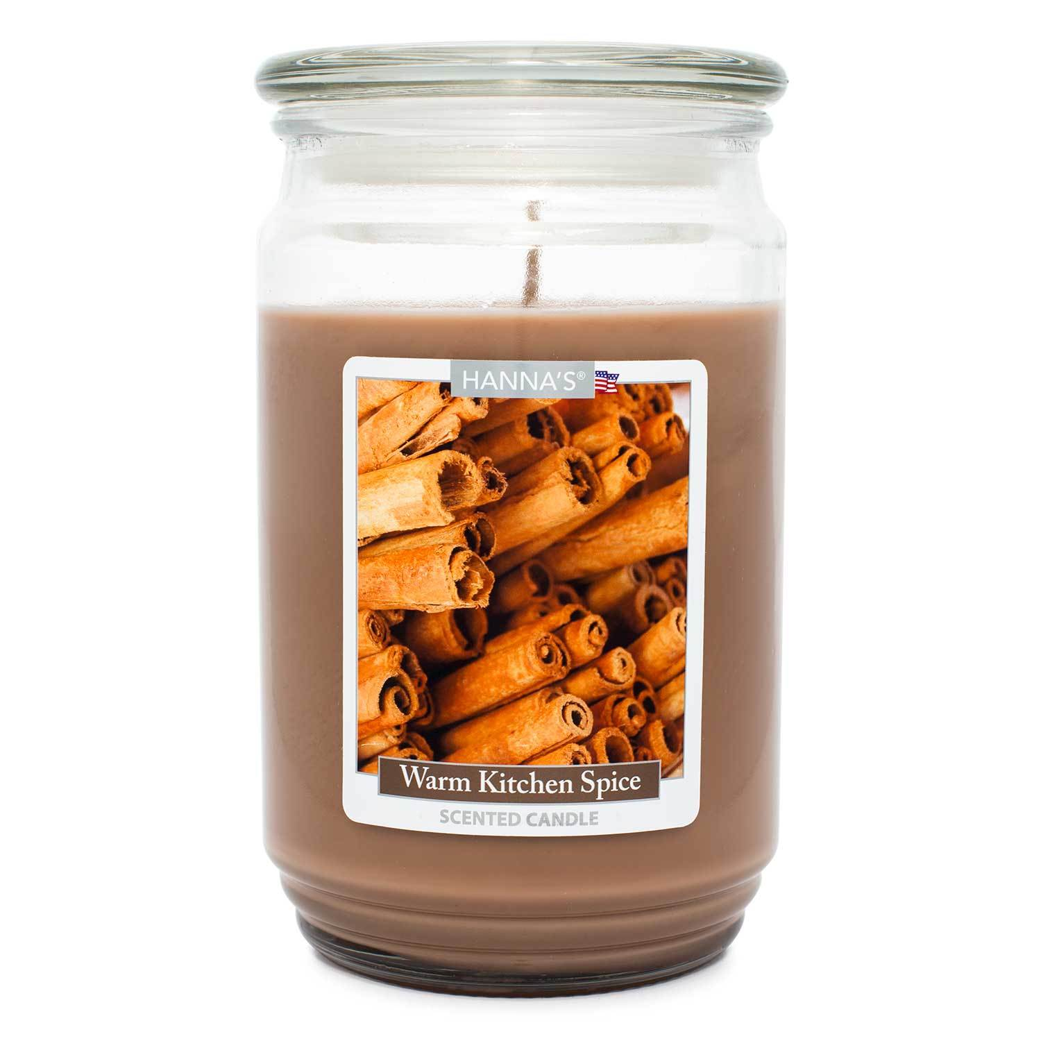 Warm Kitchen Spice Scented Large Candle