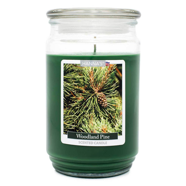 Woodland Pine Scented Large Candle
