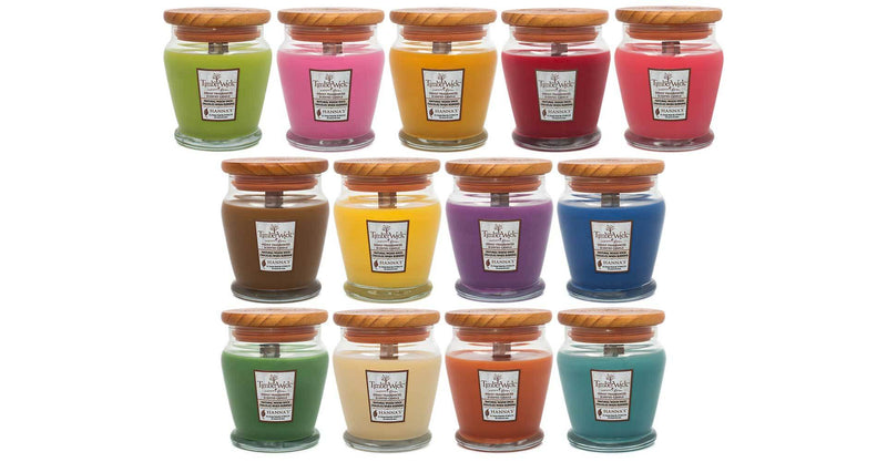 Timberwick Vanilla Brulee Scented Wax Candle - Candlemart.com