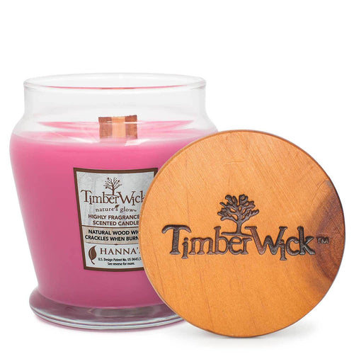 Timberwick Carmine Rose Scented Wax Candle