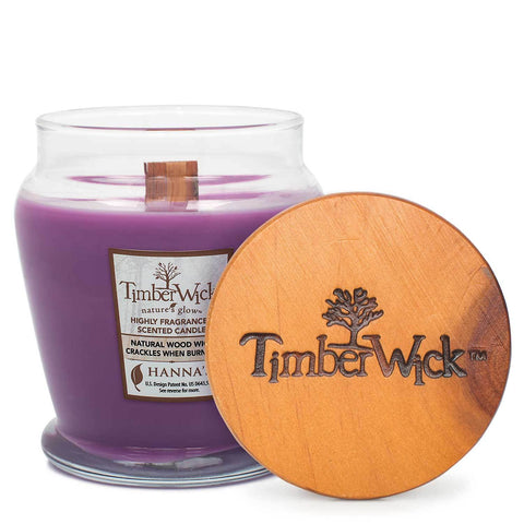 TimberWick Lavender Sachet Scented Wax Candle Timberwick Candlemart.com $ 9.99
