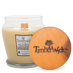 Timberwick Vanilla Brulee Scented Wax Candle Timberwick Candlemart.com $ 9.99