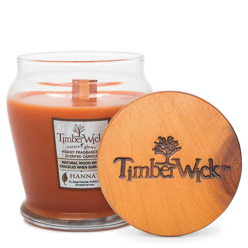 TimberWick Warm Gingerbread Scented Wax Candle - Candlemart.com
