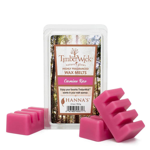 Timberwick Carmine Rose Scented Wax Melts - Candlemart.com