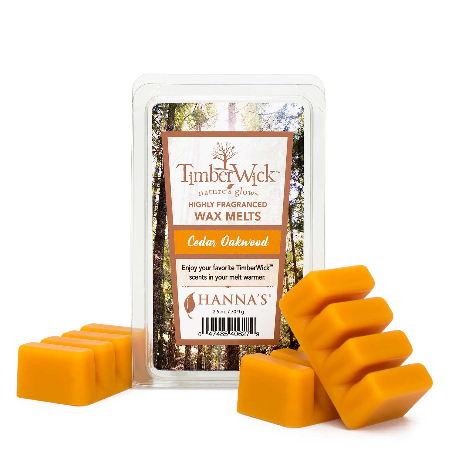 Timberwick Cedar Oakwood Wax Melts 6 Pack Melts Candlemart.com $ 12.99