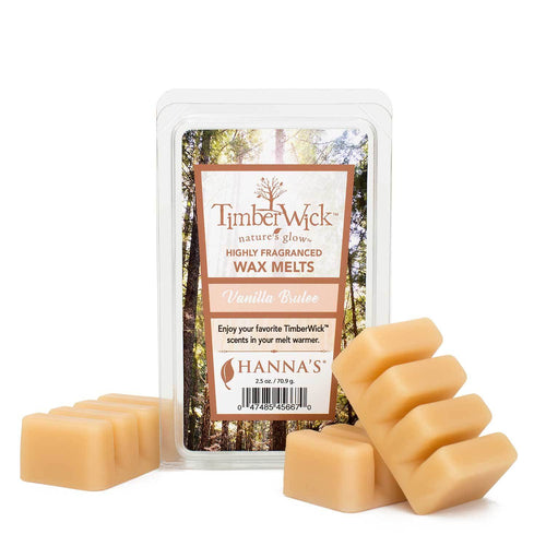 Timberwick Vanilla Brulee Scented Wax Melts - Candlemart.com