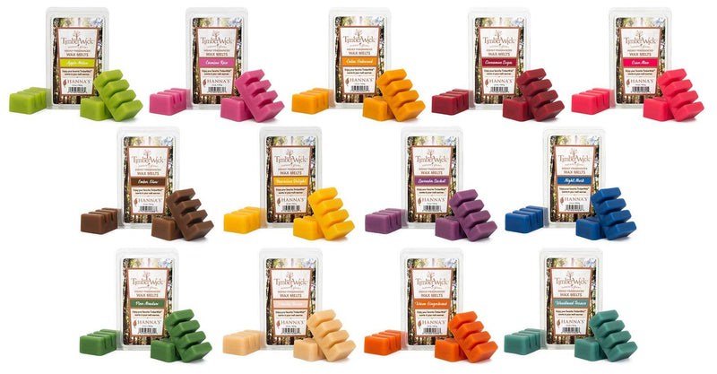 Timberwick Woodland Terrace Wax Melts 6 Pack - Candlemart.com