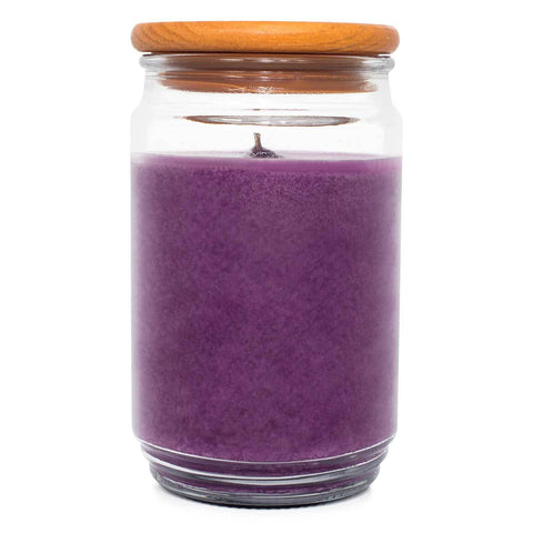 TimberWick Lavender Sachet Scented Mottled Candle