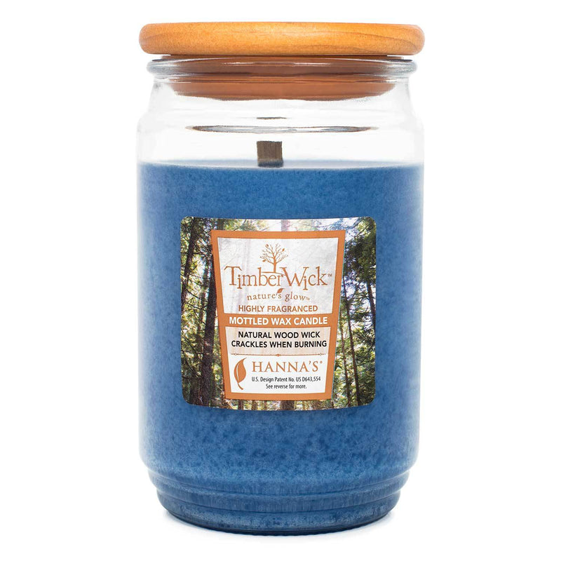 TimberWick Night Musk Scented Mottled Candle