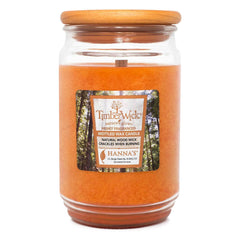 TimberWick Warm Gingerbread Scented Mottled Candle