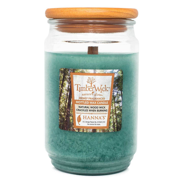 TimberWick Woodland Terrace Scented Mottled Candle