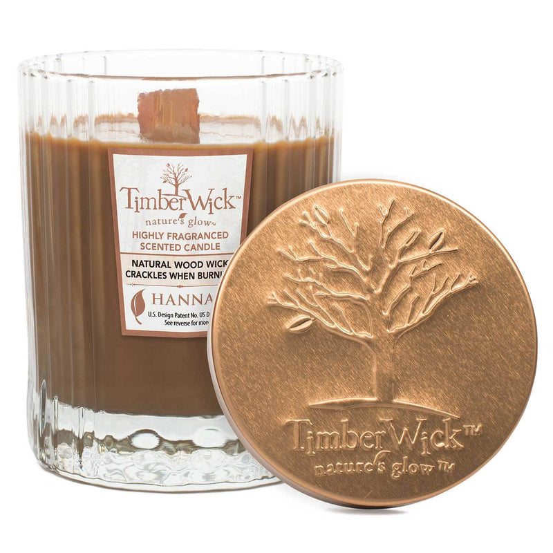 Timberwick Ember Glow Scented Wax Textured Tumbler Candle - Candlemart.com